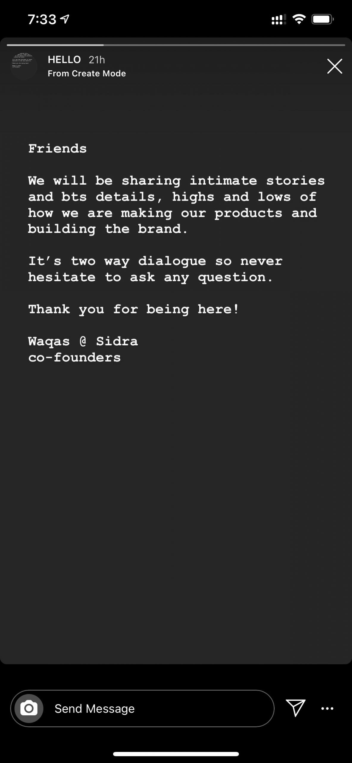 Atoms D2c private Instagram
