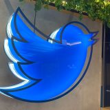 Twitter office neon sign for communities spaces and super follow